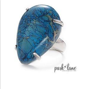 Park Lane Lapis Ring, size 9, Genuine Jasper